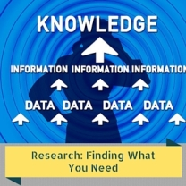 Research- Finding What You Need